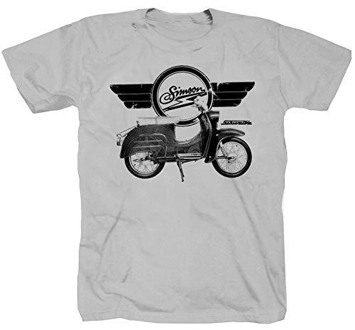 Schwalbe Kleinkraftrad KR50 KR51 Krause Duo Zink T-Shirt (M)