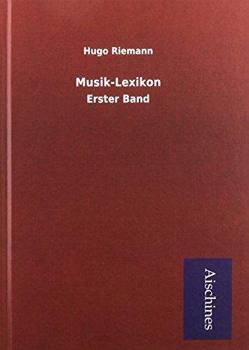 Riemann, H: Musik-Lexikon