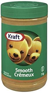 Kraft Peanut Butter Smooth 1 Kg Imported From Canada