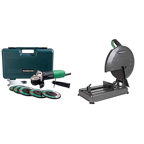 Metabo HPT Angle Grinder Kit with Metal Chop Saw