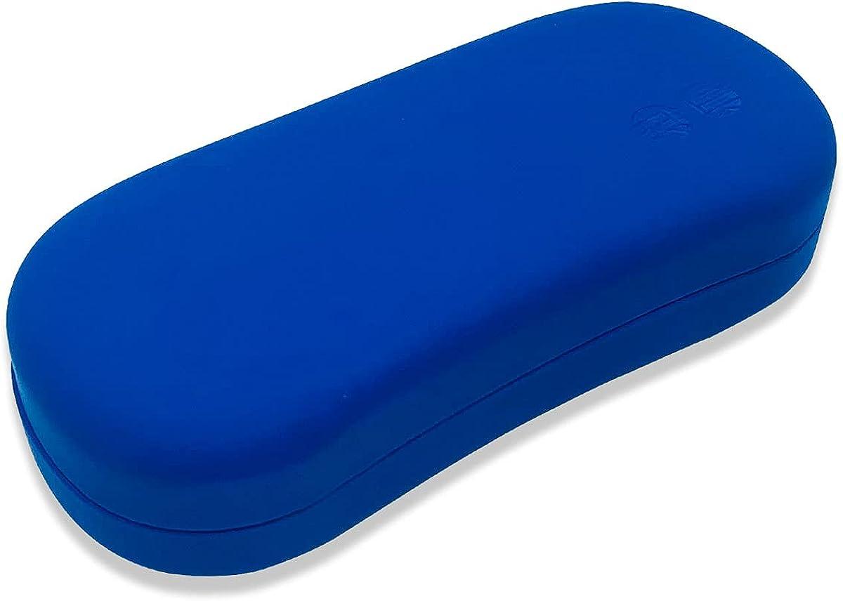 Folaxshoo Hard Shell Eyeglasses Case Unisex Protective Holder Clamshell Storage Case
