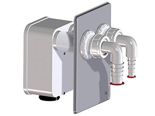 HL4000 Komplettierset mit Doppelanschluss passend zu Waschgeräte-UP-Sifon