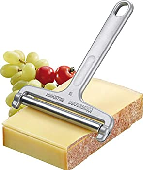 Westmark Germany Heavy Duty Stainless Steel Wire Cheese Slicer Angle Adjustable  Grey ,7  x 3.9  x 0.2  -