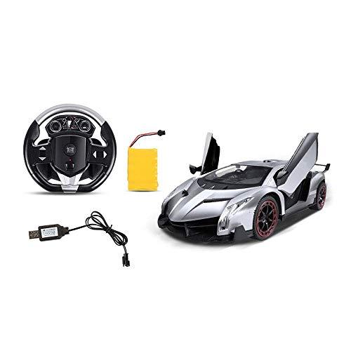 LY88 Sensore di gravità Drift Toy Car Drive RC Wireless 1:10 Telecomando Auto per Esterni Tutti i Terreni Grandi Pneumatici Ricarica USB Auto rampicante per Bambini Luci a LED Giocattolo MOD