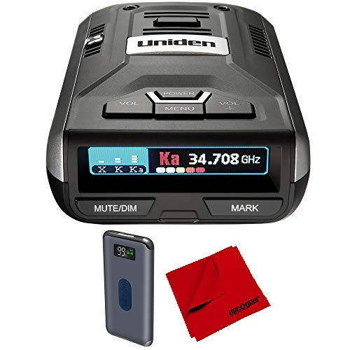 Best Price Uniden R3 Extreme Long Range Radar Laser Detector GPS, DSP, Voice Alert Silver Bundle wit...