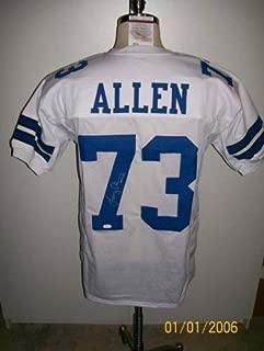 Larry Allen Autographed Signed Dallas Cowboys Jersey (Size XL) Hof13 JSA