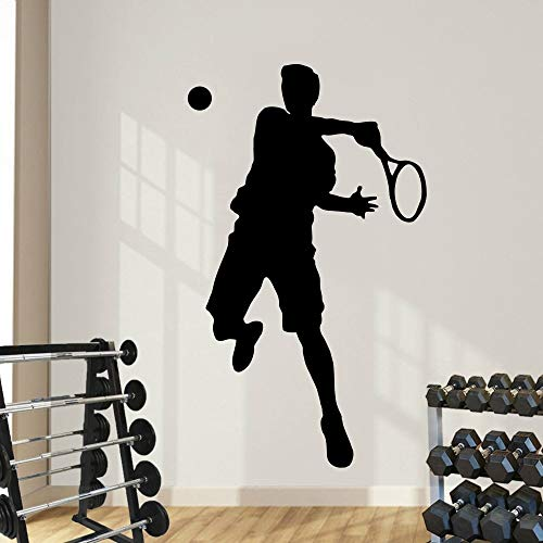 Tianpengyuanshuai muursticker sport vinyl kunst deco sticker tennis boy