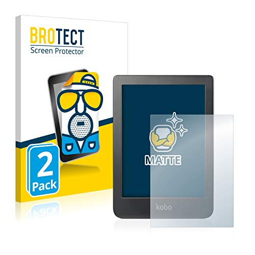BROTECT 2X Entspiegelungs-Schutzfolie kompatibel mit Kobo Clara HD (6