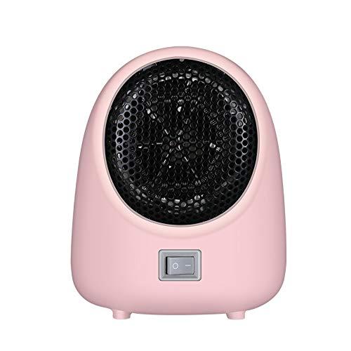 Huante - Calentador de espacio personal portátil, calentador de escritorio de calor rápido, máquina de calefacción para calefacción doméstica de invierno, enchufe europeo
