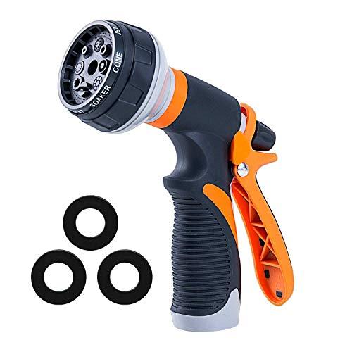 ZXW Kunststof Multifunctionele Sproeisproeier Tuinbesproeiingspistool Hogedruk-autowasmondstuk Tuinirrigatie-gereedschap Amerikaanse stijl