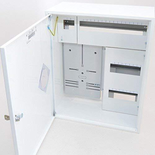 Zählerschrank Sicherungskasten Verteilerkasten f. 1x Zähler 1-Ph + 36 Sich.
