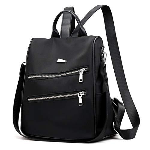 Bageek Zaino da Donna Zaino di nylon impermeabile Borse a spalla in Nylon Borse a zainetto moda con tracolla Casuale Daypack Borse a mano Backpack Daypack