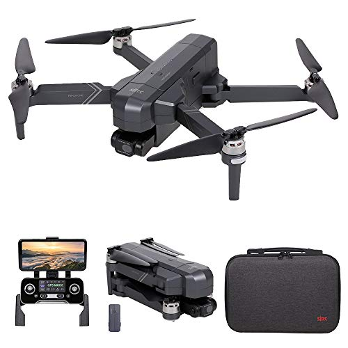 GoolRC SJRC F11 4K PRO GPS Drone, 5G WiFi FPV Drone with 4K HD Camera, 2-Axis Gimbal and Brushless Motor, Foldable RC Quadcopter with Auto Return, Altitude Hold, Follow Me, Storage Bag and 1 Battery