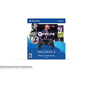 Sony Interactive Entertainment EA Sports FIFA 21 Dualshock4 Wireless Controller Bundle - PlayStation 4