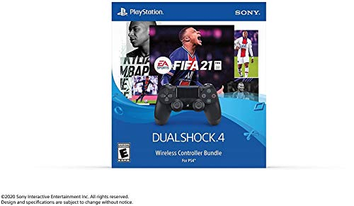 Sony Interactive Entertainment EA Sports FIFA 21 Dualshock4 Wireless Controller Bundle - PlayStation...