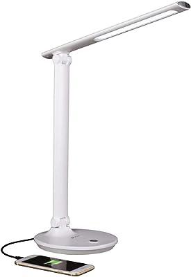 OttLite Emerge LED Desk Lamp with 2.1A USB Charging Port
