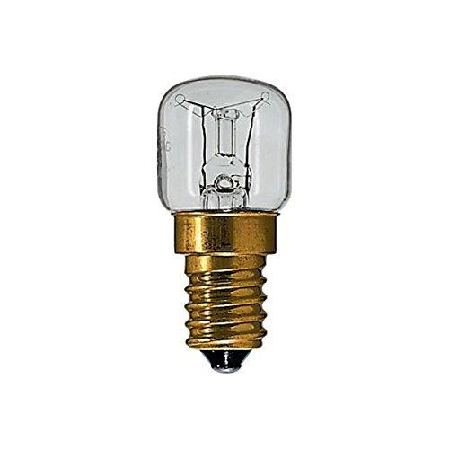 Osram,2 x Packung Osram 15w 230v E14 SES Kleiner Schraubverschluss Ofen Appliance-Lampe für zu Hause Backöfen, Himalaya-Salz-Lampen, Kühlschränke, Mikrowellen,