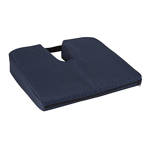 KosmoCare Coccyx Seat Cushion to Relieve Back, Sciatica and Tailbone Pain Ideal for Car, Office Chair