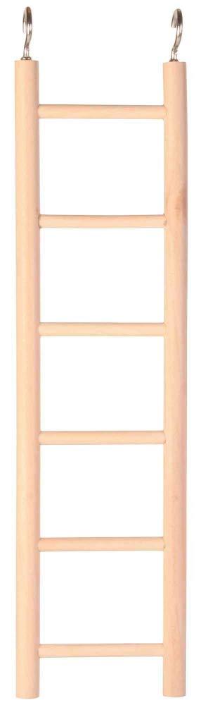 Trixie Escalera de Madera con Seis Rugs, 28 cm: Amazon.es: Productos para mascotas