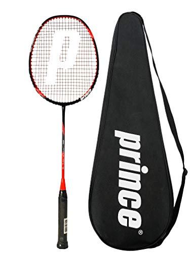 Prince Pro Nano 75 Ti Graphite Badmintonschläger + Abdeckung (Verschiedene Optionen)
