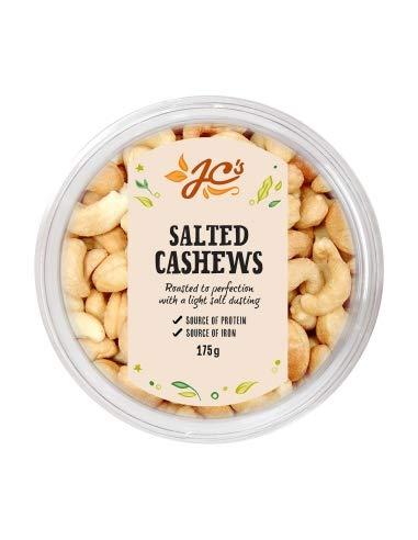Jc's Salted Cashews 175g x 12
