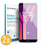smartect Panzerglas kompatibel mit Huawei Y7 2018 [2