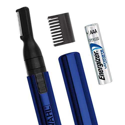 Wahl Lithium Pen Detail Trimmer with Interchangeable Heads for Nose, Ear,...
