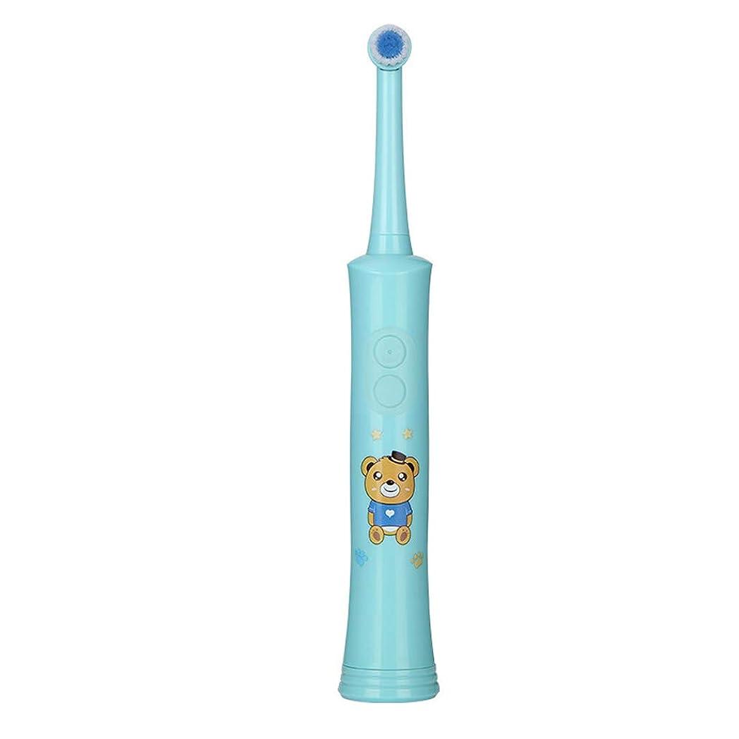 宇宙飛行士変化する冷ややかな電動歯ブラシ、携帯用子供の歯ブラシ、子供の乾電池の音波電動歯ブラシ、振動回転電動歯ブラシ