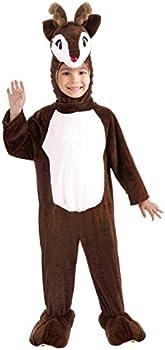 Forum Novelties Child Costume Reindeer Mascot Brown Child Small