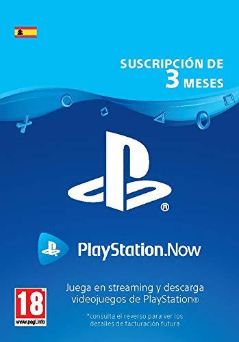 PlayStation Now - Suscripción 3 Meses | Código de descarga PS4 - Cuenta española