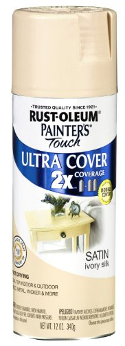 Painter's Touch 2X 12 Oz Ivory Silk Cover Spray Paint Satin [Set of 6]6