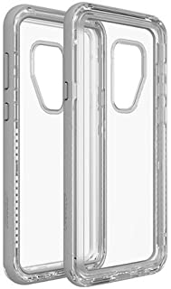 Lifeproof NEXT SERIES DROP-DIRT-SNOWPROOF Case for Samsung Galaxy S9 Plus - Retail Packaging - BEACH PEBBLE (GRAY/CLEAR)