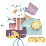 SYOSIN Badespielzeug Wassermühle für Babys, Kinder Wasser Dusche Badewannenspielzeug Für Kinder Junge und Mädchen ab 6 Monate+