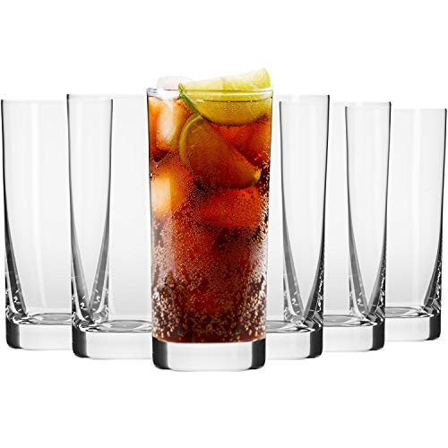 Krosno Vasos de Agua Jugo | Conjunto de 6 Piezas | 350...