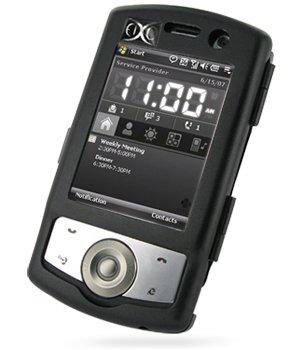 Luxus Alucase Black (Schwarz) für O2 XDA Orbit II 2, Aluminium Hardcase, Handy Alu Hard Case, Alu Case