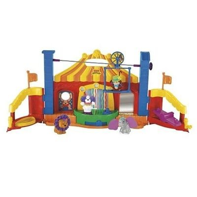 Mattel - Fisher-Price K0315-0 - Little People Fhlen & Entdecken Zirkus