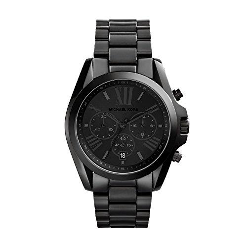 Michael Kors Reloj cronógrafo para Mujer de Cuarzo con Correa en Revestimiento de Acero Inoxidable MK5550