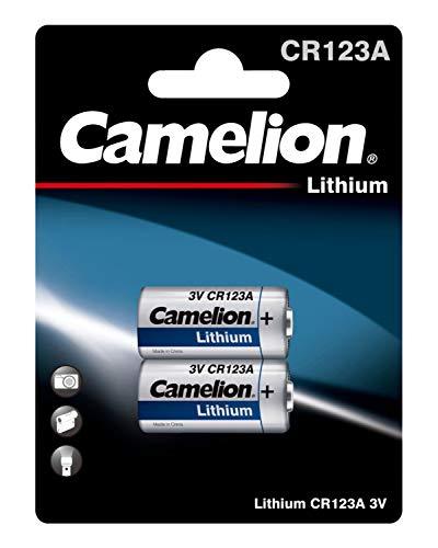Camelion foto Lithium CR123A, 2 stuks