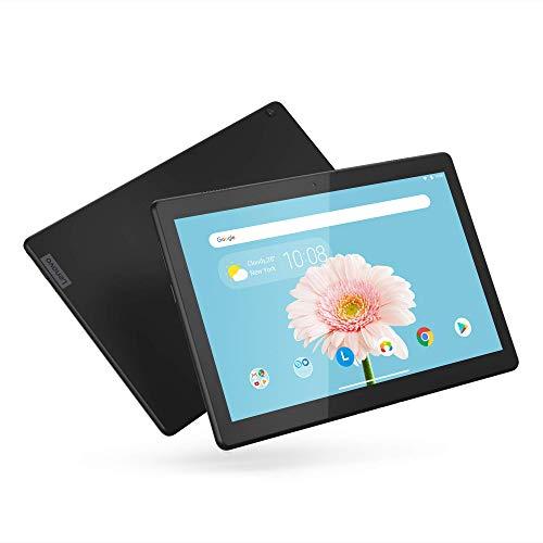 Lenovo Tab M10 HD 10.1' Tablet, Android 9.0, 16GB Storage, Quad-Core Processor, WiFi, Bluetooth, ZA4G0000US, Slate Black (Renewed)