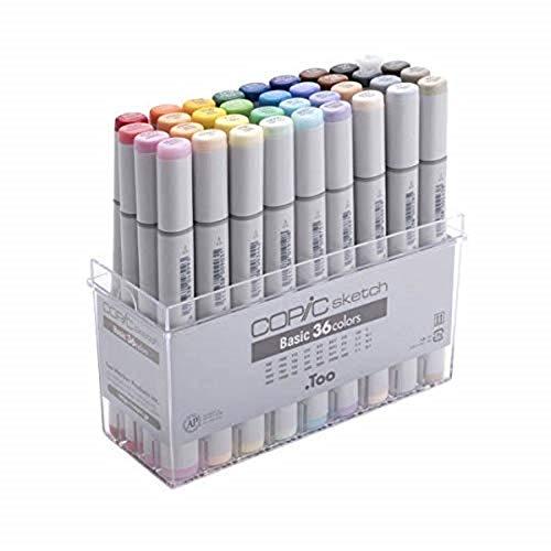 Copic - Juego de marcadores - 6, multicolor