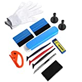 GISSVOGEEK Vehicle Vinyl Film Tool Kit for Car Wrapping,12 in 1 Car Window Film Tinting To...
