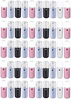 Mini TeqBee Nano Facial Mister, Portable Cool Mist Sprayer Facial Steamer by TeqBee (50 Pack)