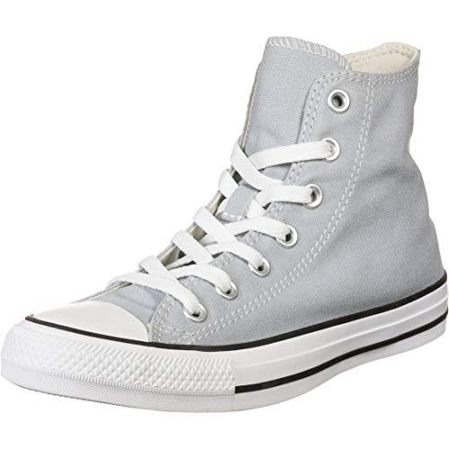 Converse Chucks CTAS HI 166705C Grau, Schuhgröße:37
