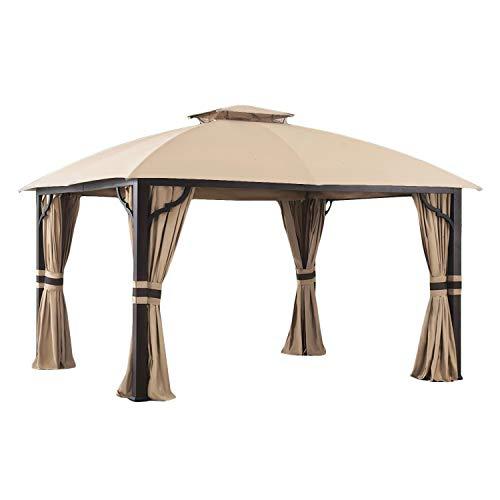 Garden Winds Replacement Canopy Top Cover for Berkley Jensen 10 x 12 - Riplock 350