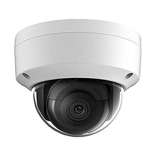 UltraHD 8MP PoE Outdoor-IP Camera - OEM DS-2CD2185FWD-I,4K Security Dome Camera with 2.8mm Fixed Lens,up to 98ft IR Night Vision,Smart H.265+,Bulit-in SD Card Slot, WDR,DNR,IP67,IK10