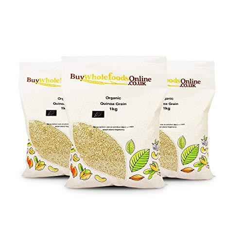 Organic Quinoa Grain 3kg (Buy Whole Foods Online Ltd.)...
