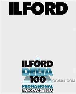 Ilford Delta-100 Professional 4x5in. 100 Sheets B&W Negative Film (ISO-100)