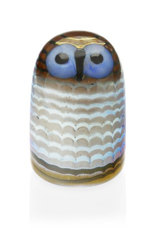 Iittala Birds of Toikka Mouthblown Glass Bird, Owlet
