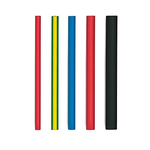 Steinel Schrumpfschlauch-Set III, 20 Stück, Ø 4.0 – 12.0 mm, zum Schrumpfen von Kabeln, Kabelbrüchen und Kabelsträngen