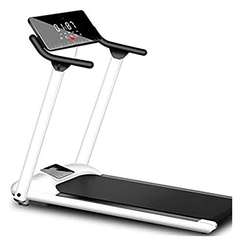 HCCHZR Treadmills for Home, Folding Household Gym Treadmill Running Machine with LED Display Safe Bar Motorized Treadmill Portable Electric Treadmill